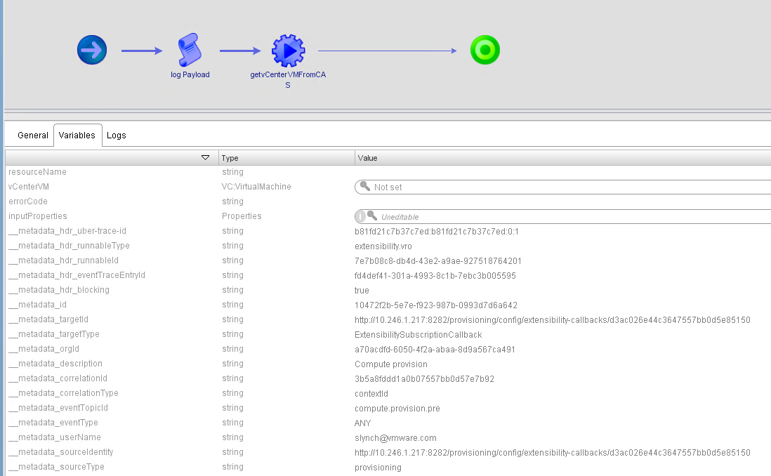 Extending Cloud Assembly with vRealize Orchestrator for ServiceNow