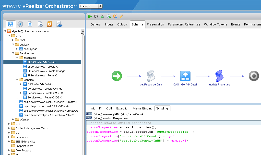 Extending Cloud Assembly with vRealize Orchestrator for